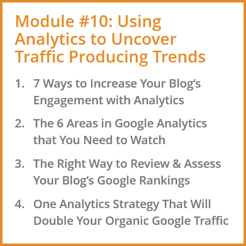 Using Blogging Analytics to Uncover Trends