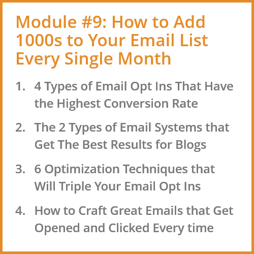 How to Add 1000s to Your Blog's Email List